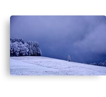 A blue Night..........December 2014 Canvas Print