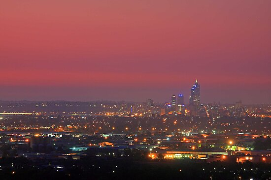 Perth At Dusk by EOS20