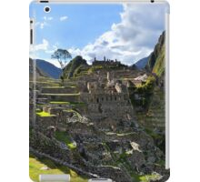 Machu Picchu in the Afternoon iPad Case/Skin