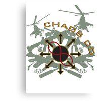 Chaos CO Canvas Print