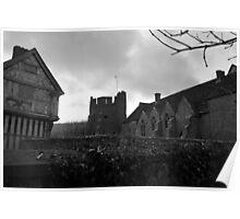 Stokesay Castle & Gate House Poster