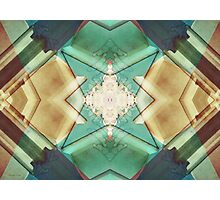 Quilted Origami 2 Photographic Print