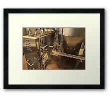 Brew Machine Framed Print