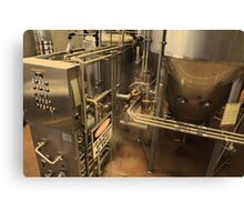 Brew Machine Canvas Print