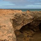 Headland near Warrnambool by Colin  Ewington