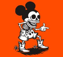 mickey skull by thesect