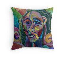 Empathy (Acrylics)- Throw Pillow