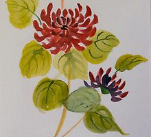 Chrysanthemum by Donna Mearns