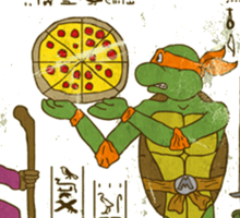 egyptian turtles Sticker