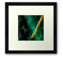 fuxart fractal two Framed Print