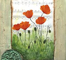Poppies by Donna Mearns