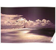 Nobbys Beach, Newcastle Poster