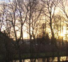 Bruges Sunrise Sticker