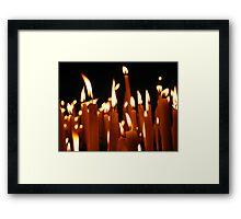 Candles © Framed Print