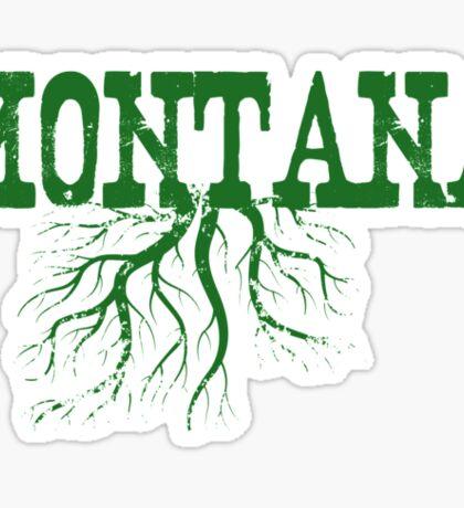 Montana Roots Sticker