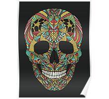 Ethno skull Poster