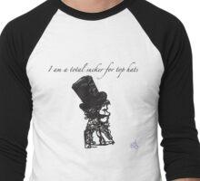 Sucker For The Top Hat Men's Baseball ¾ T-Shirt