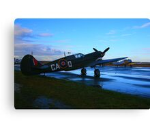 Restored Kittyhawk Canvas Print