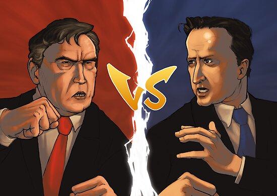 Brown VS Cameron by 2DForever