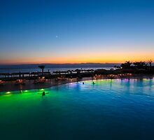 Jordan, Aqaba, Tala Bay Luxury Beach Resort.  by PhotoStock-Isra
