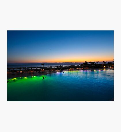 Jordan, Aqaba, Tala Bay Luxury Beach Resort.  Photographic Print