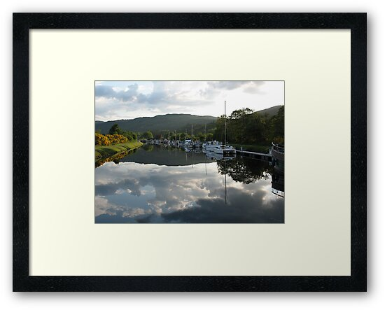 Caledonian Canal near Loch Ness by jacqi