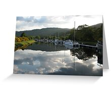 Caledonian Canal near Loch Ness Greeting Card
