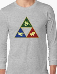 Hoenn's Legendary Triforce Long Sleeve T-Shirt