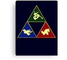 Hoenn's Legendary Triforce Canvas Print