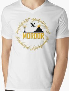 Mordor Mens V-Neck T-Shirt