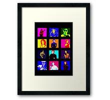 Heroinas Framed Print