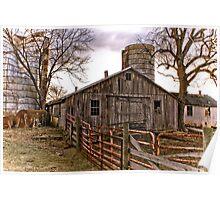 Virginia Farm Scene #1 Poster