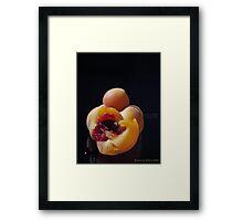 Bitter Fruit Framed Print