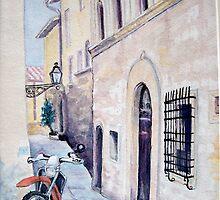 Cycling Tuscany by Carolyn Bishop