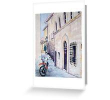 Cycling Tuscany Greeting Card