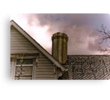 Chimney & Roof Line Canvas Print