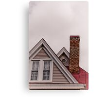 Chimney & Roof Lines Canvas Print