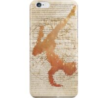 Thougt Control Yoga book iPhone Case/Skin