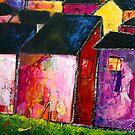 Houses in Belves. by Summer Hues