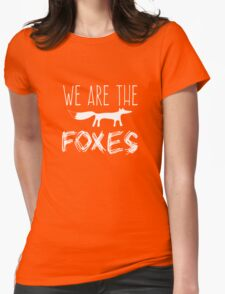 Taylor Swift - We Are The Foxes Womens Fitted T-Shirt