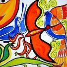 The orange Bird. by Summer Hues