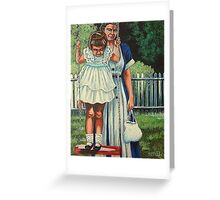 My Favorite Place #5, The Red Swing Greeting Card
