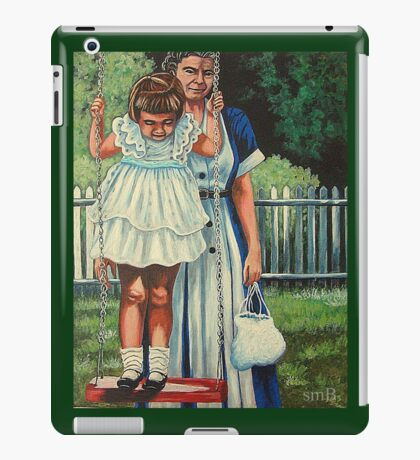 My Favorite Place #5, The Red Swing iPad Case/Skin
