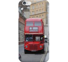 Red Bus iPhone Case/Skin