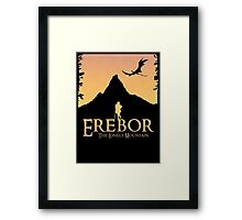 Erebor - The Lonely Mountain (The Hobbit) Framed Print