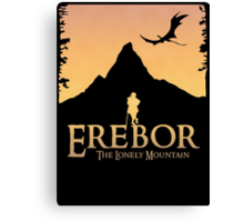 Erebor - The Lonely Mountain (The Hobbit) Canvas Print