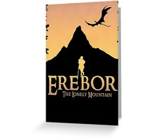 Erebor - The Lonely Mountain (The Hobbit) Greeting Card