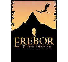 Erebor - The Lonely Mountain (The Hobbit) Photographic Print
