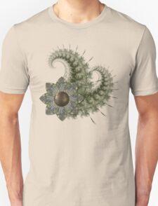 Fractal and Flower T-Shirt
