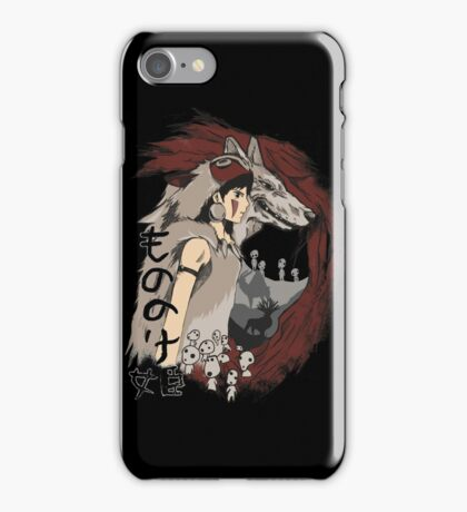 Keepers of the forest mononoke iPhone Case/Skin